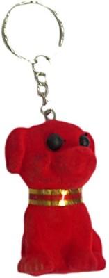 Indigo Creatives Cute Puppy Dog Squeeze Sound Love gift keychain Key Chain