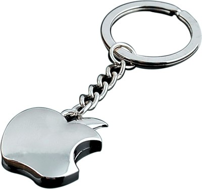 Key Chain Art Apple Metallic Key Ring Key Chain