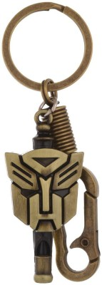 Kairos Transformer Whistle Antique Gold Key Chain