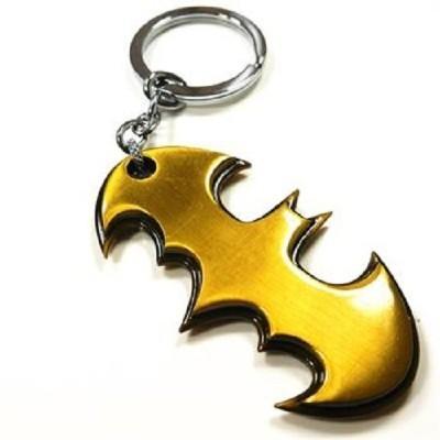 Goodbuy Batman Golden Logo Metal Key Chain
