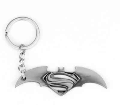 Shop & Shoppee Superhero Batman vs Superman Metal Key Chain