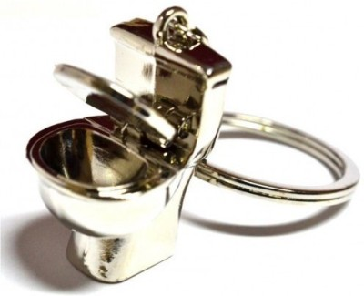 Prime Traders Commode Pot Toilet Shape Key Chain