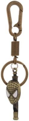 Kairos SpiderMan Whistle Antique Gold Key Chain