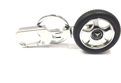 i-gadgets Rotary Tyre for Mercedes Locking Key Chain