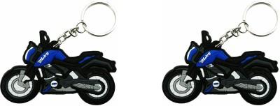 SiNgH Navy Blue KTM Duke Key Chain-2 Key Chain