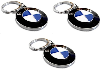 Goodbuy Set of 3 BMW Car Logo Locking Key Chain