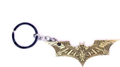 Me2ugifts Batman gold metal Key Chain