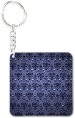 Lolprint 25 Pattern Square Key Chain