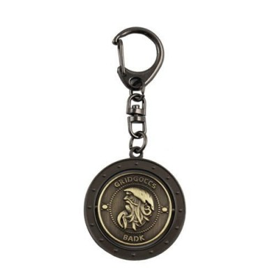 Bidheaven BADK Harry Potter Metal Locket Circular Key Chain