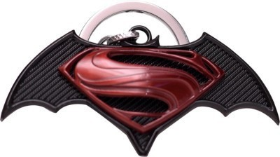 Indigo Creatives Fabulous Superman & Batman Combo Logo keychain Key Chain