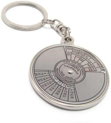 SHOPCHOICE 50 years calender key chain Key Chain