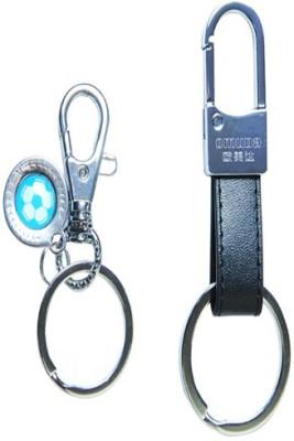GiKay Stylish Big and Small Locking Key Chain