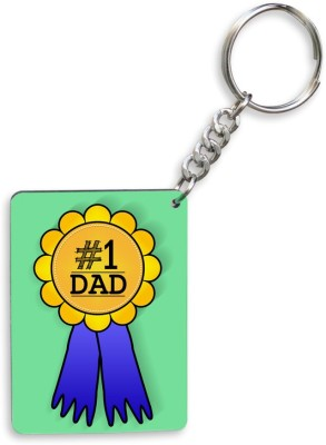 SKY TRENDS GIFT No.1 Dad A Special and Best Occassion Unique Gifts For Dad Father's Day Key Chain