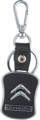 Prime Traders Cetreon Black Leather Key Chain