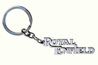 Rudham Royal Enfield Metal Logo Keyring Key Chain