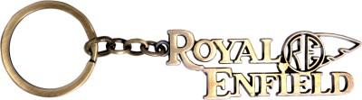 Me2ugifts Royal enfield gold Key Chain