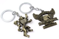 SRPC HEAR ME ROAR LANNISTER & HARLEY DAVIDSON MOTORCYCLE Key Chain