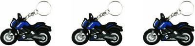 SiNgH Navy Blue KTM Duke Key Chain-3 Key Chain
