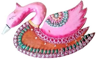 Chitra Handicraft Duck Key Holder Wooden Key Holder