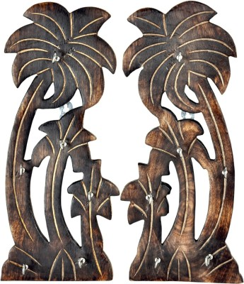 Genius Bird Wooden Key Holder