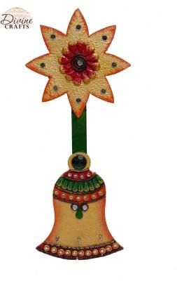 Divinecrafts Paiper Machi Flower Wooden Key Holder