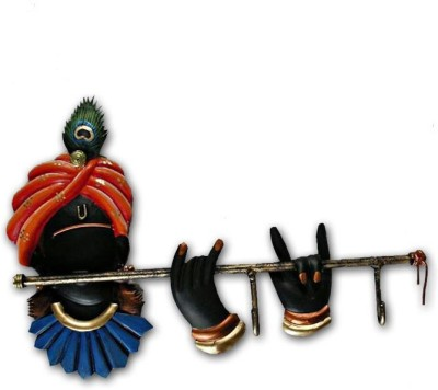 Karigaari India Krishna Iron Key Holder