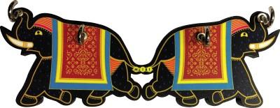 Mad(e) in India Elephant Wooden Key Holder