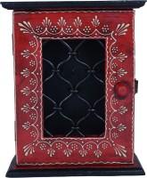 Wooden Key Holder Key Hanger Box Key Rack Wooden Key Storage Box 698