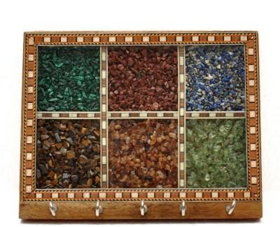 Gaura Art & Crafts Marble Key Holder