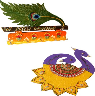 Shree Sai Handicraft Designer Combo Gift Wooden Key Holder