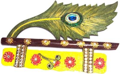Traditional Rajasthan Morepankh Wooden Key Holder