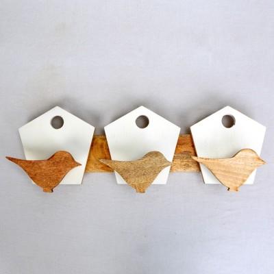 Deziworkz Wooden Key Holder