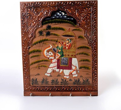 Indiangiftemporium Wooden Key Holder