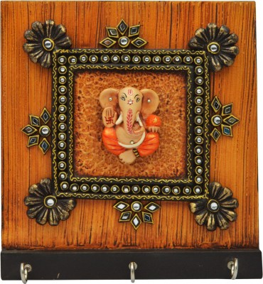 Shreeng Wooden Key Holder