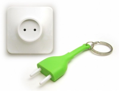 GeekGoodies Unplug Anti Lost Chain Plastic Key Holder