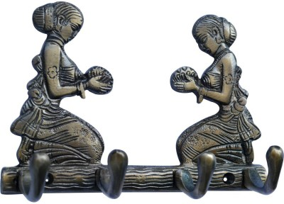 Aakrati Two Welcome Lady for Your Valuble Aluminium Key Holder