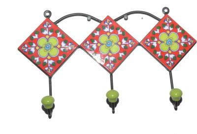Odisha Bazaar Wall Hanging Hook For Coat Ceramic Key Holder