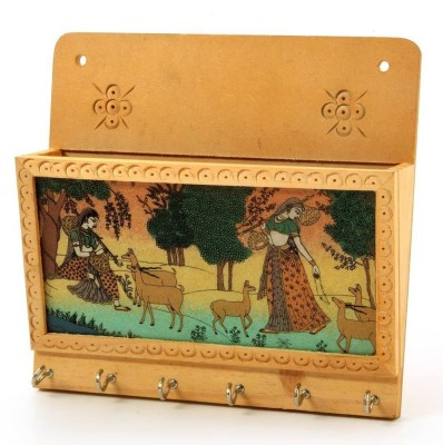 Desert Eshop Gemstone Painting Magazine-102 Wooden Key Holder