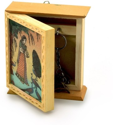 Home India Wooden Key Holder