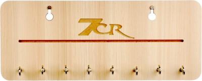 7CR FL-Buttter nut Wooden Key Holder