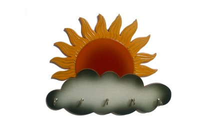 Desert Eshop Sun rise Wooden Key Holder