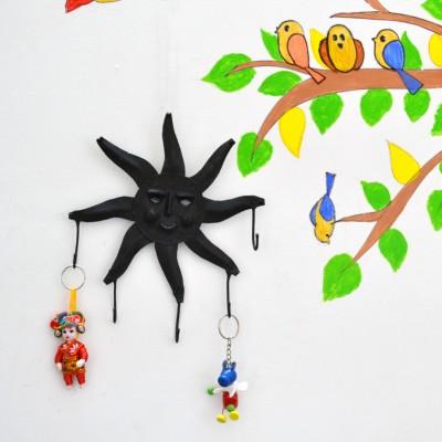 Chinhhari Arts WIH016 Iron Key Holder
