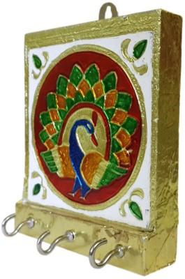 Dineshalini Wooden Key Holder