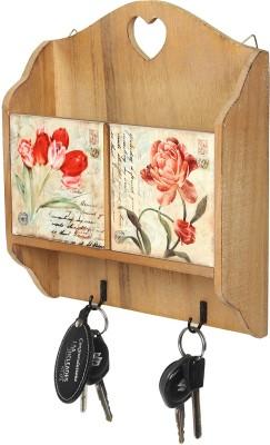Kulture Label Wooden Key Holder
