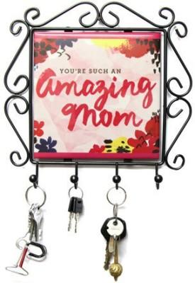 Gifts By Meeta Amazing Mom Frame Iron Key Holder