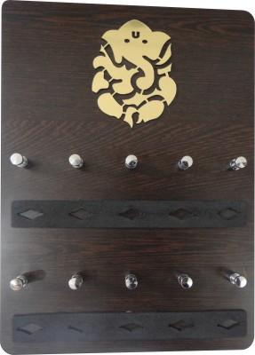 glowvision GVGanpati key holder Wooden Key Holder