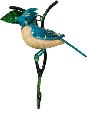 Peacock Life Iron Key Holder