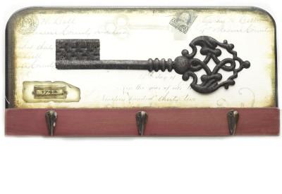 Aapno Rajasthan Digital Print Wall Wooden Key Holder