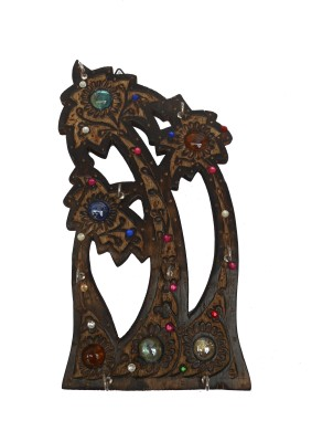 Handicrafts WOOD MADE ANTIQUE LOOKS Wooden Key Holder