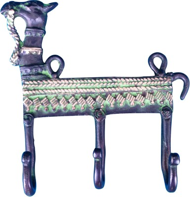 Aakrati Brass Key Holder